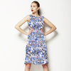 Seamless Irregular Camuflage Paisley Abstrac Textile (Dress)