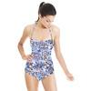 Seamless Irregular Camuflage Paisley Abstrac Textile (Swimsuit)