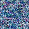 Seamless Abstract Irregular Colorfull Inspired Floral Textile (Original)