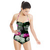 Dark Rose Blooms (Swimsuit)