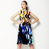Abstract Colourful Smoke Image (Dress)