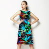 Seamless Botanical Pattern (Dress)