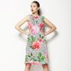 Watercolor Flower Bouquets (Dress)