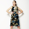 Dried Graphical Bloom (Dress)