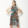 Seamless Patchwork Paisley Pattern (Dress)