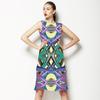 Strelitzia Composition Pattern (Dress)