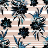 Floral Stripe Pattern (Original)