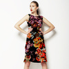 Abstract Digital Floral (Dress)