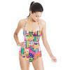 Vibrant Collage (Swimsuit)