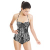 Textured Ikat (Swimsuit)