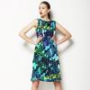Bright Animal Bird Feather (Dress)