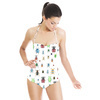 Colourful Insect/beetles Pattern (Swimsuit)