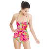 Bohemian Skin Mosaic Fragmented Pink (Swimsuit)