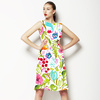 Painted Florals Bohemian (Dress)