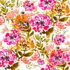 SS 2017 Painted Florals Pink Bohemian (Original)