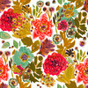 AW 2017 Painterly Autumn Florals (Original)