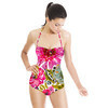 SS 2017 Painted Florals Bohemian Pink (Swimsuit)