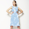 Marble Clouds Baby Blue (Dress)