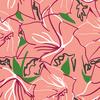 Line Flowers (Original)