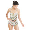 Tribal Geometric, Ethnic Style (Swimsuit)