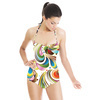 Rainbow Flowers (Swimsuit)