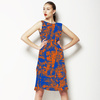 Abstract Texture Colorfull Irregular Textile (Dress)