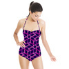 Eastern Geometric Mosaic Pattern in Repeat (Swimsuit)
