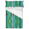 Multi-Colored Funky Graphic Stripes (Bed)