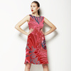 Feather Red (Dress)