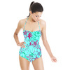 Tropical Garden Blue (Swimsuit)