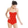 Oriental Style Geometric Print (Swimsuit)