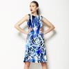 Blue Flower 1655 (Dress)