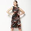 Hand Painted Brush Waves Primitive Pattern (Dress)