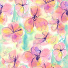 Watercolor Floral Pattern (Original)