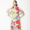 Pop Psychedelic Vivid Freeflow Floral (Dress)