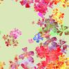 Pop Psychedelic Vivid Freeflow Floral (Original)