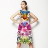 Mirrored Flowers (Dress)