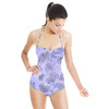 D639 Delicate Butterfly Botanical (Swimsuit)