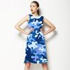Camouflage Blue (Dress)