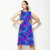 Blue Zigzag (Dress)