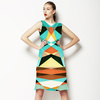 Geometric Colorful Pattern (Dress)