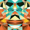 Geometric Colorful Pattern (Original)