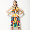 Abstract Colorful Pattern (Dress)