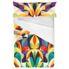 Abstract Colorful Pattern (Bed)