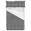 Black & White Houndstooth (Bed)