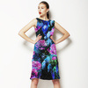 Blue-Violet Bloom (Dress)