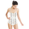 Graphic Geo Stripes Rearranged (Swimsuit)