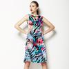 Geo Leaf Tropical (Dress)
