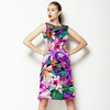 Seamless Floral and Paisley Pattern (Dress)