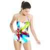 Color Feathers in Repeat (Swimsuit)